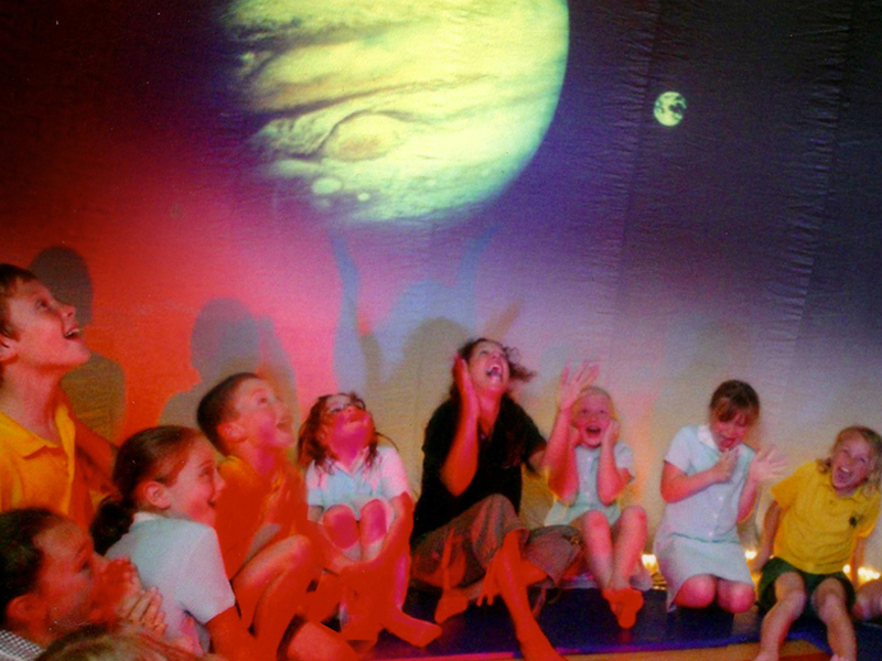 Explorer Dome Science Shows For Ks2